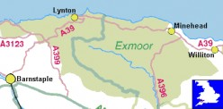 Interesting England: North Devon; Exmoor, Lynmouth & Lynton; Walks, Wildlife, History & Literature