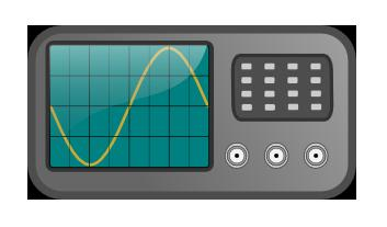 Oscilloscopes are frequently used to measure frequency.