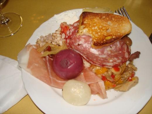 Classic Florentine dish