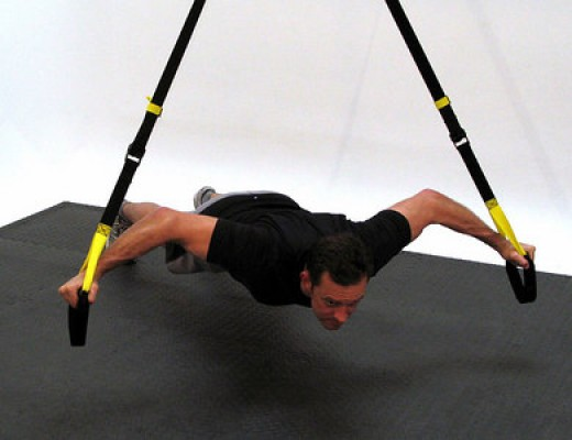 trx suspension chest flyes