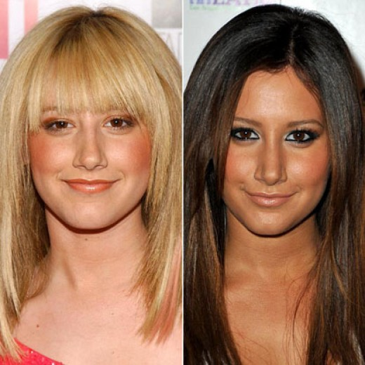 Disney star Ashley Tisdale, before and after