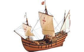 Columbus's Tiny Caravelle, The Pinta