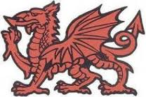 The red dragon of Wessex, emblem of the senior earl of Eadward's England