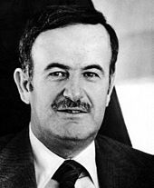 Syrian President Hafez al-Assad