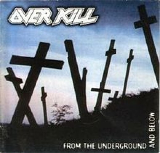 1997's FROM THE UNDERGROUND AND BELOW is not only my fave late '90s Overkill disc, but one of my fave Kill albums, period.
