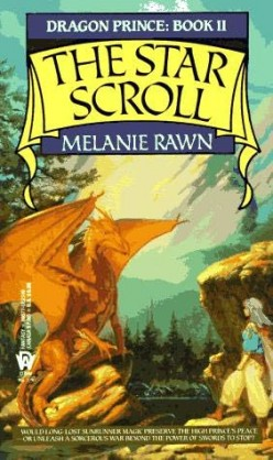The Star Scroll (Dragon Prince #2), by Melanie Rawn