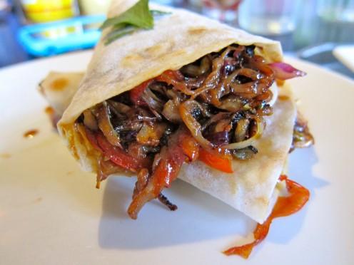 Moo Shu Pork Burrito