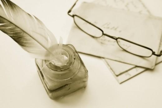 Writing materials...