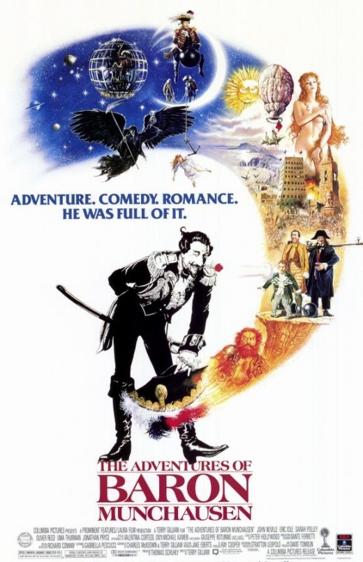 Adventures of Baron Munchausen (1988) poster