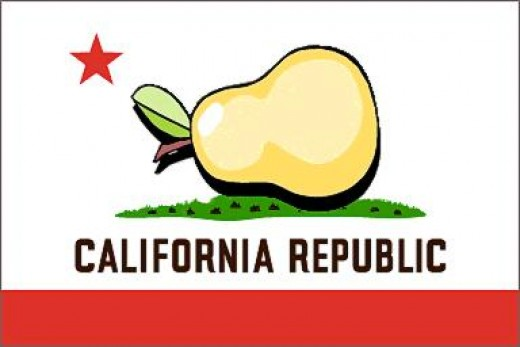 "Snopes says, ""a historically accurate California flag should look something more like this."""