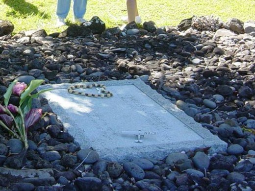 Charles Linbergh's grave