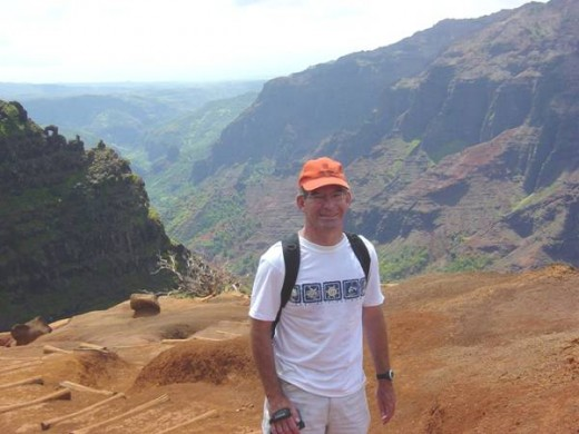 On Top of the World in Waimea Canyon