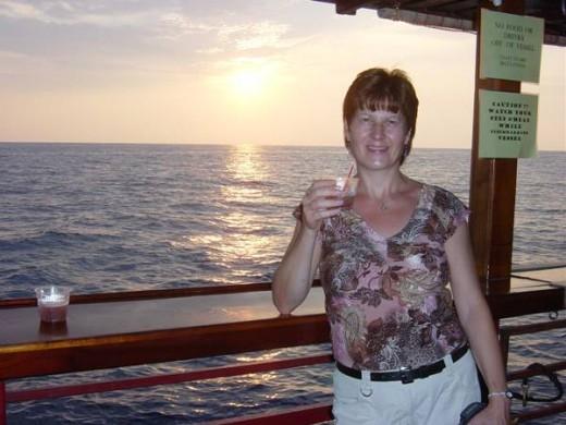 Sunset Cruise in Kona
