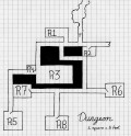 "Dungeons & Dragons 3.0/3.5 Premade Dungeon: ""The Black Raven"" Level 1"