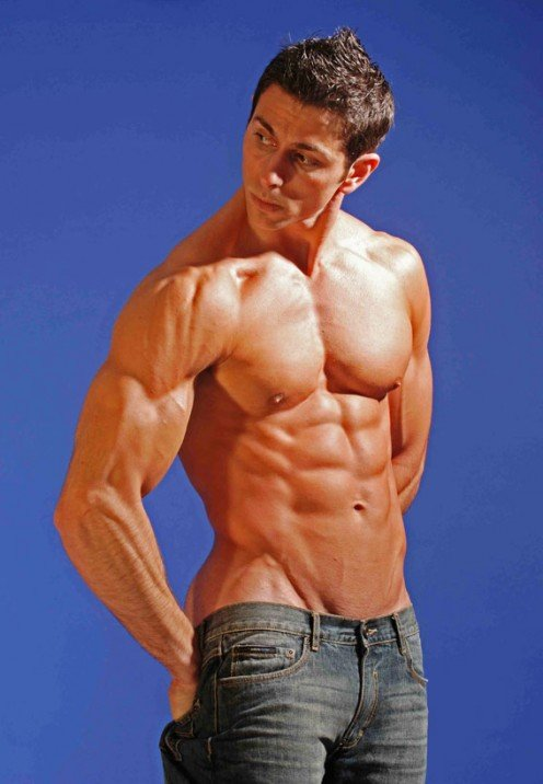 Male Model Fitness Workout