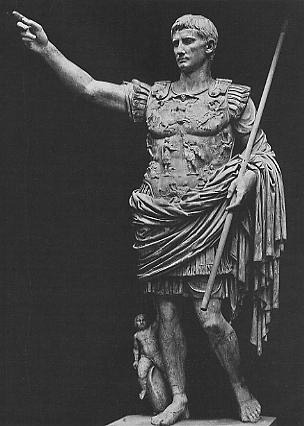 Augustus Caesar, the founder of Imperial Rome's new order