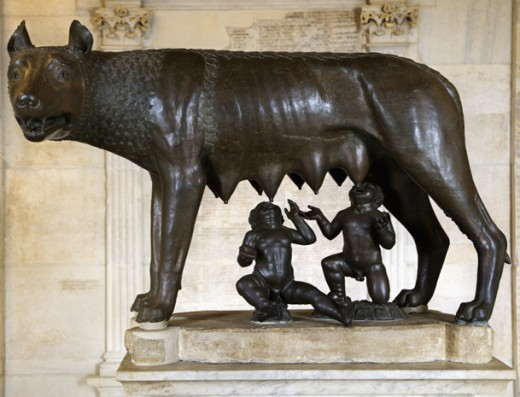 The risk of unrestrained rivalry and competition was expressed in Rome's very story of origin, with the twins, one a victorious fratricide, Romulus and Remus.