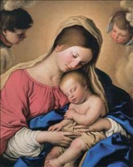 Infant Jesus, Sassoferrato
