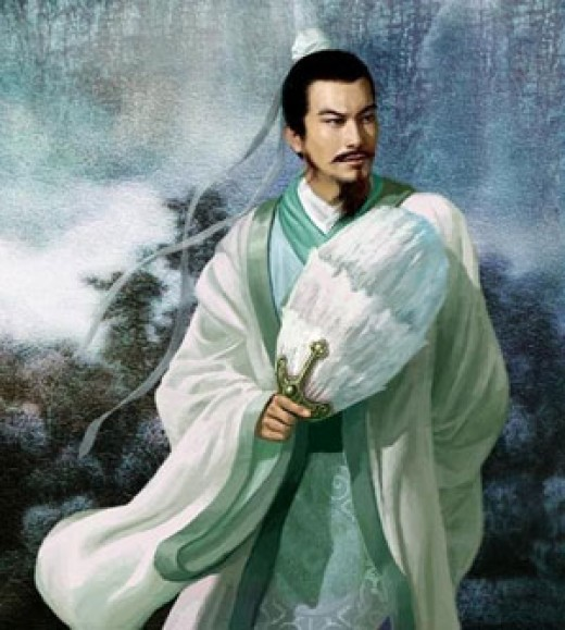 The legendary Chinese statesman Zhuge Liang, on whom I believe Tolkien based the character Gandalf