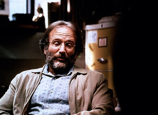Robin Williams in 1997's Good Will Hunting.....his best movie according to ...