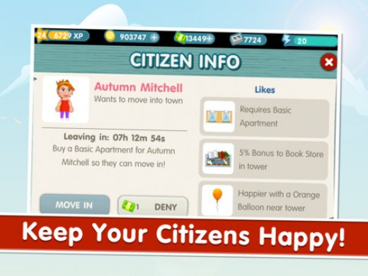 Citizens Info Menu
