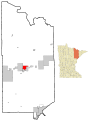 Map show incorporated and unincorporated areas in St. Louis County