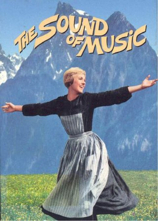Julie Andrews in Sound of Music