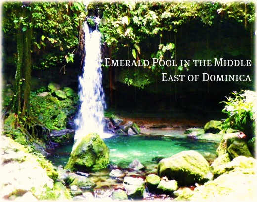 Emerald Pool, Truly a Beautiful Site in Dominica