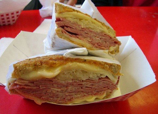 The Reuben sandwich has that elusive flavor combination known as Umami