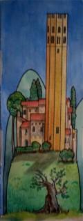 La Badia, near Orvieto