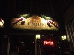 The Manneken Pis Bar in Brussels, Belgium