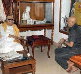 Cho Ramaswamy, Editor of Thuglak weekly predicted the outcome of the Tamil Nadu Assembly elections and Karunanidhi's defeat last year.