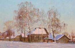 Village of Kinnermäki Karelia, Russia