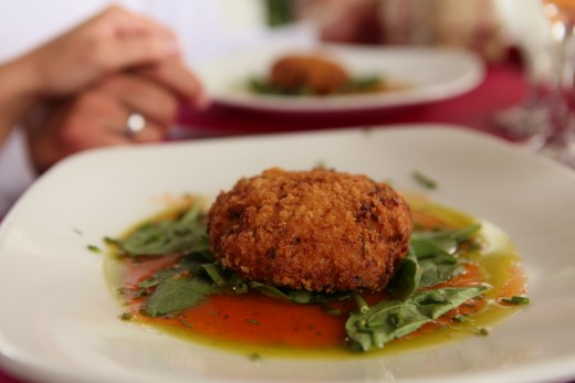 Crab Cake from The Seawatch