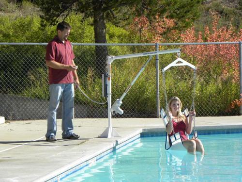 Pool Hoist for Disabled Power EZ1