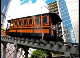 A ride on the Angel's Flight