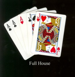 WE ARE ALL DELT A HAND OF CARDS, THE WAY WE PLAY OUR CARDS AFFECTS US AS MUCH AS THE CARDS WE ARE DELT