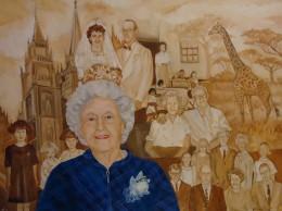 A Recent Historical Portrait I Painted