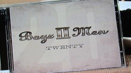 Boyz II Men new cd, entitled 'Twenty,'  which focuses on their experiences in the music industry for the past twenty years.