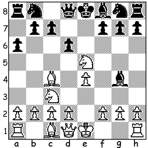 Mistake #5 - After 5. Nxe5