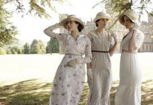 Downton girls.