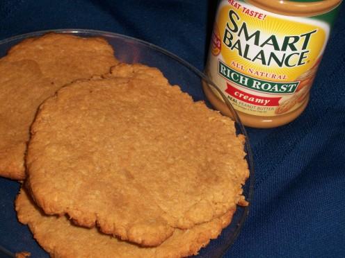 Peanut Butter Protien Cookies