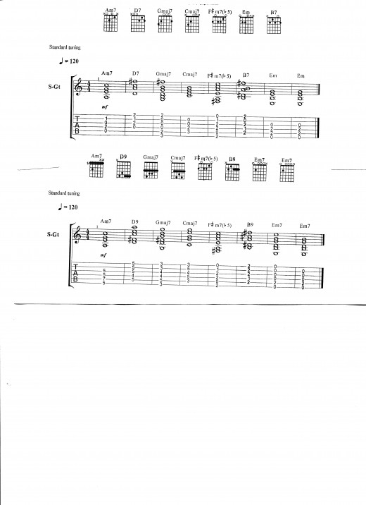 how to change chord progression for chorus