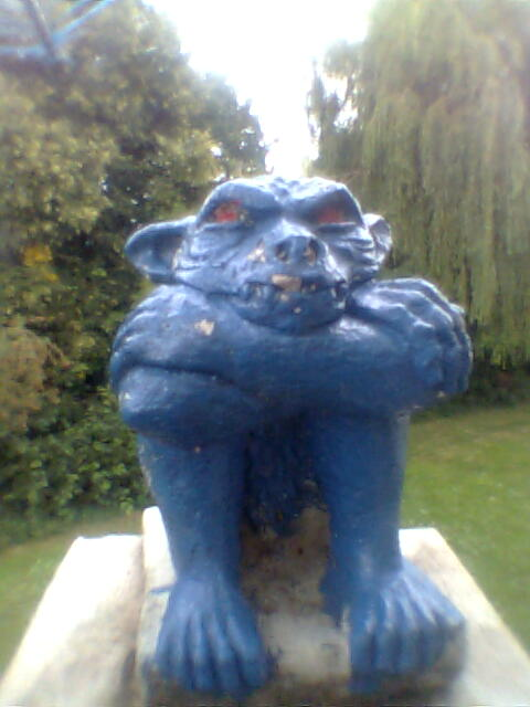Harry the Gargoyle!  He keeps a very keen eye on proceedings! Photo Copyright Nell Rose