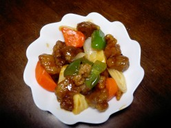 Chinese Sweet and Sour Pork Stir-Fry