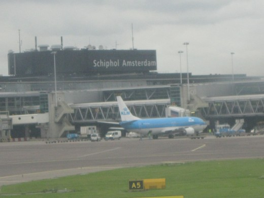 Terminal Building of Amsterdam's Schiphol Airport