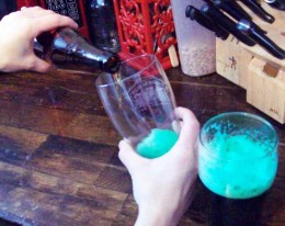 Mmmm.  More green beer.