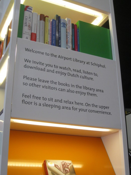 Amsterdam Airport Schiphol - Library lending policy