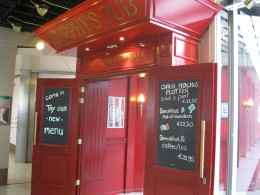 Amsterdam Airport Schiphol - There is even an Irish Pub