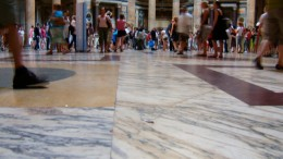 Title: Pantheon Marble Floor ~ License Attribution License ~ Photographer: Andy Hay